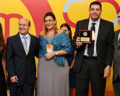 Prêmio Johnson e Johnson 2012 – Eleito Fornecedor Ouro do ano de 2011